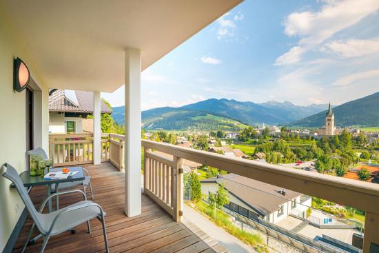 Ferienwohnung in Radstadt - Salzburger Land - Feriendomizil - zeitGenuss - Sonnenterrasse