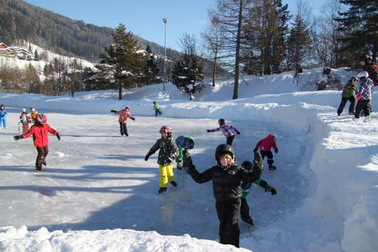 Eislaufen - Winterurlaub - Radstadt - Ferienwohnung - Zeitgenuss - Salzburger Land