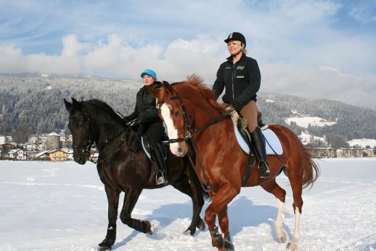 Reiten - Winterurlaub - Radstadt - Ferienwohnung - Zeitgenuss - Salzburger Land